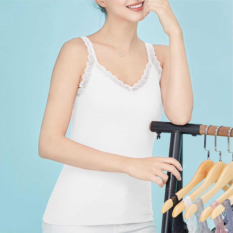 Mulheres sexy renda colete fino modal tank tops estilingue com decote em v lingerie sem mangas cinta de colheita casual magro verão roupa interior # f
