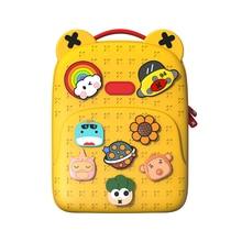 Kids Cartoon School Bag Childrens Stationery Backpack Girls Travel Handbag Boys Ipad Iphone Shoulder Bag Toddler Gaming Toys Bag