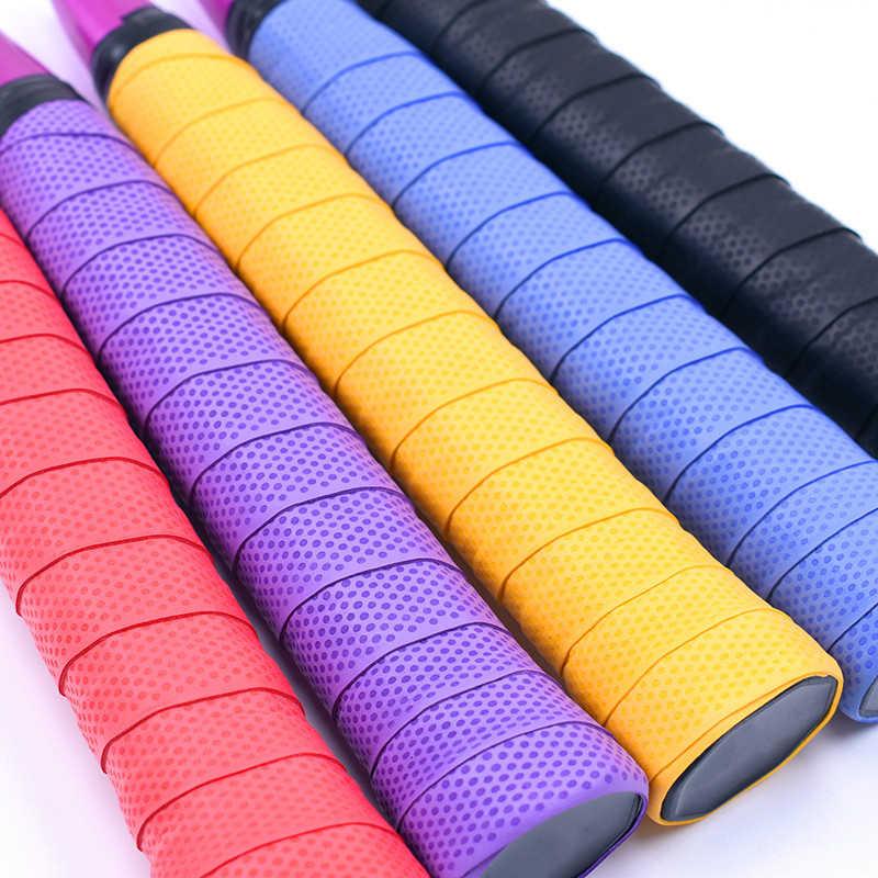 Tennis Racket Racquet Vibration Sweatband Sweat Absorbed Wrap Overgrip Wraps