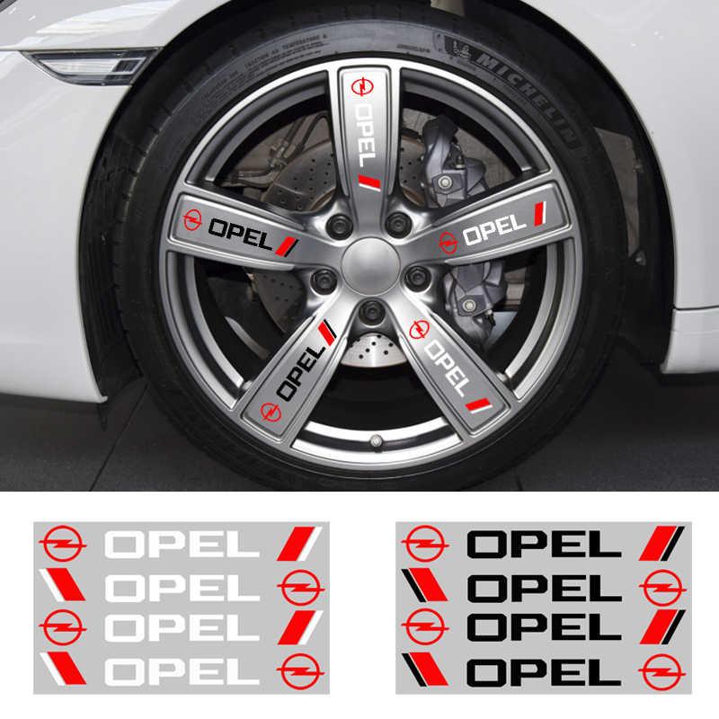 4PCS Car Styling Auto Maniglia Della Porta Adesivi Per Auto Decorazione Per Opel Astra H G J Insignia Mokka Zafira Corsa vectra C D Accessori
