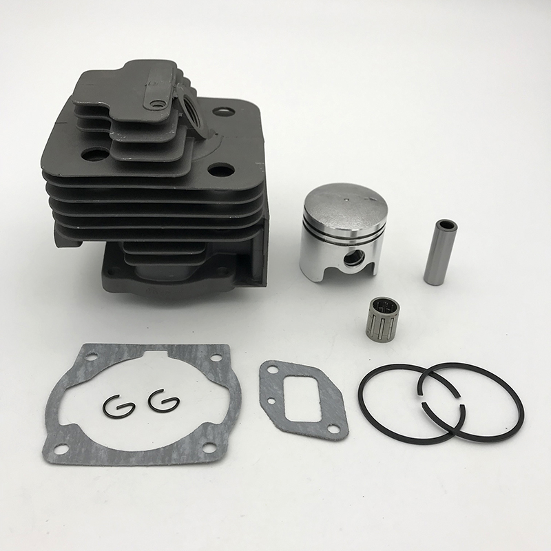 HUNDURE 40MM & 44MM Cylinder Piston Kit 43CC 52CC 1E44F-5 44F-5 44-5 BG520 CG520 CG430 1E40F-5 40-5 Rebuled Trimmer Parts