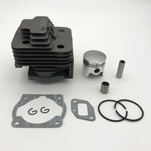 HUNDURE 40MM & 44MM Cylinder Piston Kit 43CC 52CC 1E44F 5 44F 5 44 5 BG520 CG520 CG430 1E40F 5 40 5 Rebuled Trimmer Parts