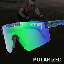 PIT VIPER Cycling Glasses UV400 Outdoor Polarized Sports Eyewear Fashion Bike Bicycle Sunglasses Mtb Goggles with Case
