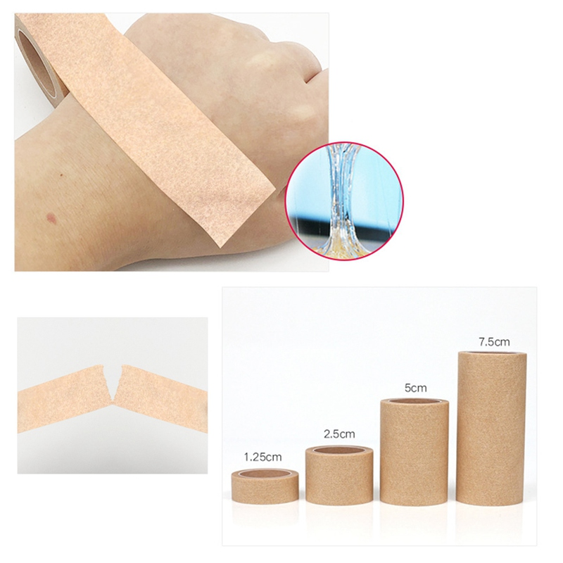 Tape Breathable Tape Wound Injury Care 1.25cm Or 2.5cm Or 5cm Or 7.5 Widths Available Quality Brand
