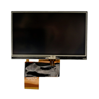 AT043TN25 V.2 หน้าจอ LCD สำหรับ Chimei Innolux 4.3 นิ้ว Touch Screen