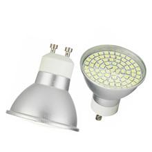 LED Bulb Spotlight GU10 3W 5W 7W 48/60/80 LEDS 2835 SMD 220V Lampada Energy Saving Home Lighting LED Lamp Cold Warm White Bulbs energy saving led lamp 3w e14 smd3528 led bulb light 220v 240v lampada de led spotlight warm white cold white