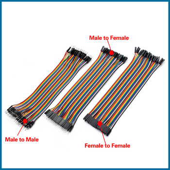цена S ROBOT Cable Dupont Jumper Wire Dupont 20CM Male to Male + Female to Male + Female to Female Dupont Cable RPI155 онлайн в 2017 году