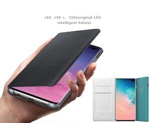 Image 4 - SAMSUNG Original LED View Cover Smart Cover Phone Case for Samsung Galaxy S10 SM G9730 S10X SM G9700 S10 E S10E S10Plus G9750