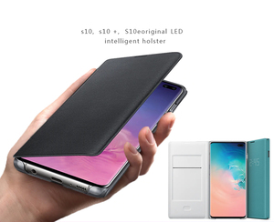 Image 4 - サムスンオリジナルledビューカバースマートカバー電話ケース銀河S10 SM G9730 S10X SM G9700 S10 e S10E S10Plus g9750
