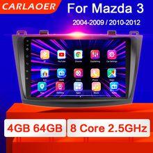 Para mazda 3 2004-2013 maxx axela android 9.0 carro dvd gps rádio estéreo 1g 16g wifi livre mapa quad core 2 din carro multimídia jogador