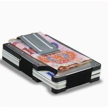 Модный минималистичный кошелек 2020 мужской из углеродного волокна