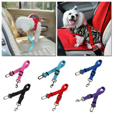 Pet Supplies Dog Seat Belt Car Adjustable Elastic Leash Travel Vehicle Safety For Small Medium Dogs