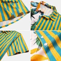 חולצה קצרה מעוצבת לגברים הוואי