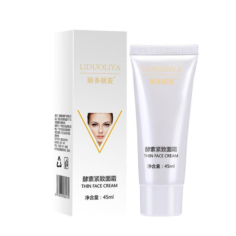 45ml Enzyme Sliming Face Cream Face Lifting Cream Burning Fat Shaping V Face Firming Skin Facial Slimming Facial Cream