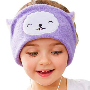 Image 5 - Vococal Cute Headphones Hearing Protection Kids Childrens Headband Earphones Headset Mask Cover For Sleeping Listening Music