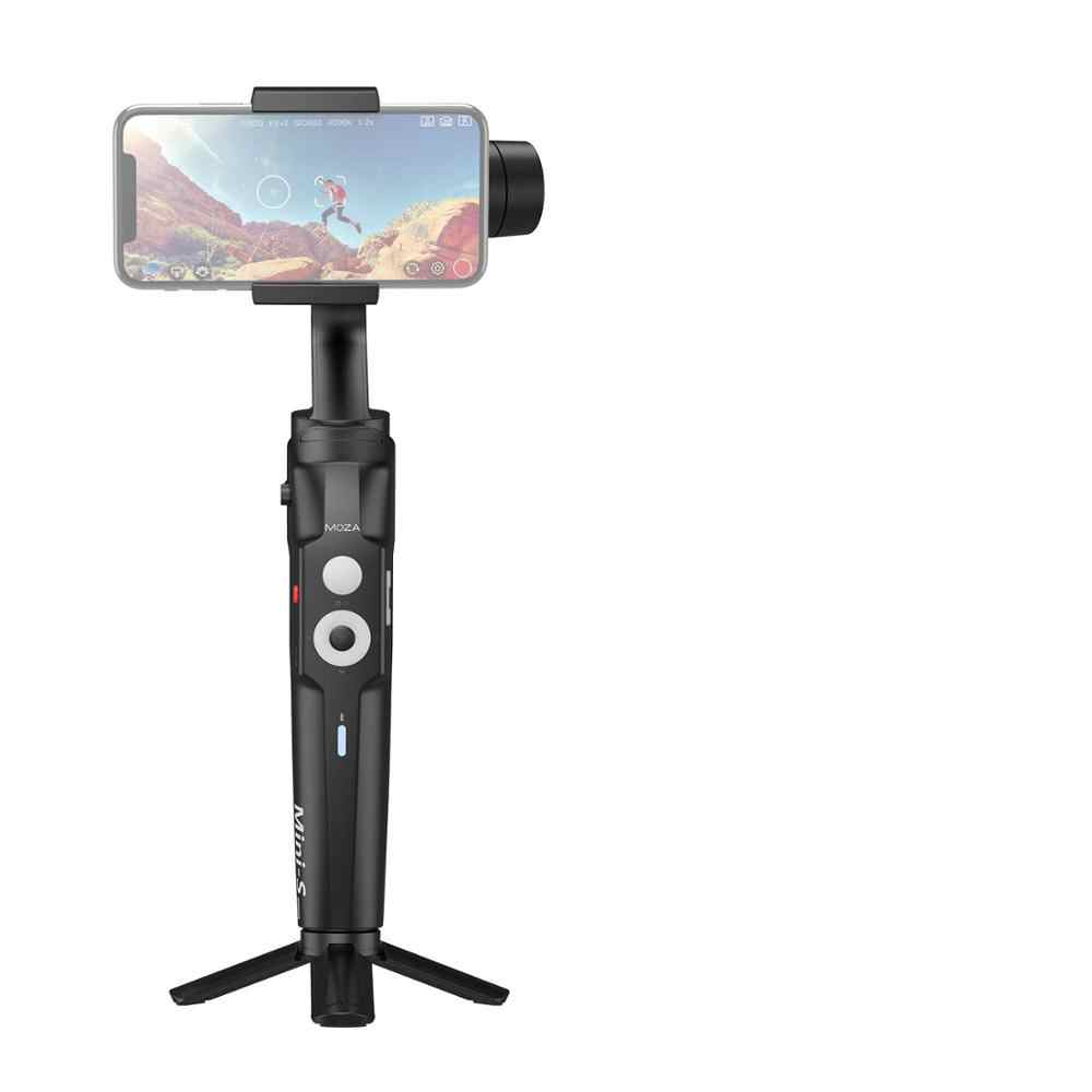 Moza Mini S Lipat 3-Axis Handheld Gimbal Stabilizer untuk IOS10.0 iPhone Android 8.1 Smart Phone GoPro 5/ 6/7