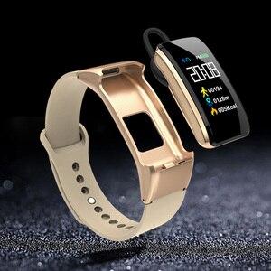 Смарт-браслет B31 с Bluetooth гарнитурой Talk смарт-браслет наручные часы с музыкальным управлением Шагомер монитор сна Smartband часы