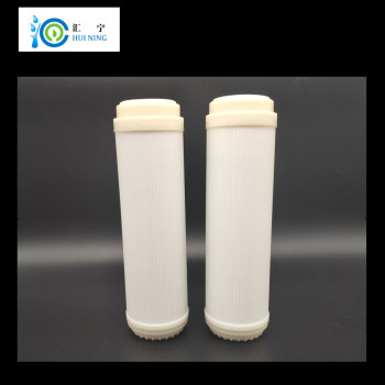 10 inch integrated hollow fiber ultrafiltration membrane water filter quick change uf filter element integrated filter core 2pcs/lot ultrafiltration membrane Filtration accuracy 0.01 micron  water filter for System  Reverse Osmosis