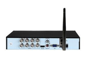 Image 3 - 赤パネルオーディオ顔検出5MP xmeye Hi3531D H.265 + 8CH 8チャンネル16CHハイブリッド6で1世tvi cvi nvr ahd wifi cctv dvr