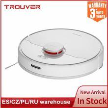 Xiaomi Trouver Robot Vacuum Mop Cleaner RLS3 Finder Wet Mop LDS Laser Navigation APP Remote Control Global Version