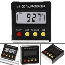 Digital Protractor inclinometer Inclinometer Electronic Level Box Magnetic Base carpenter tools Goniometer