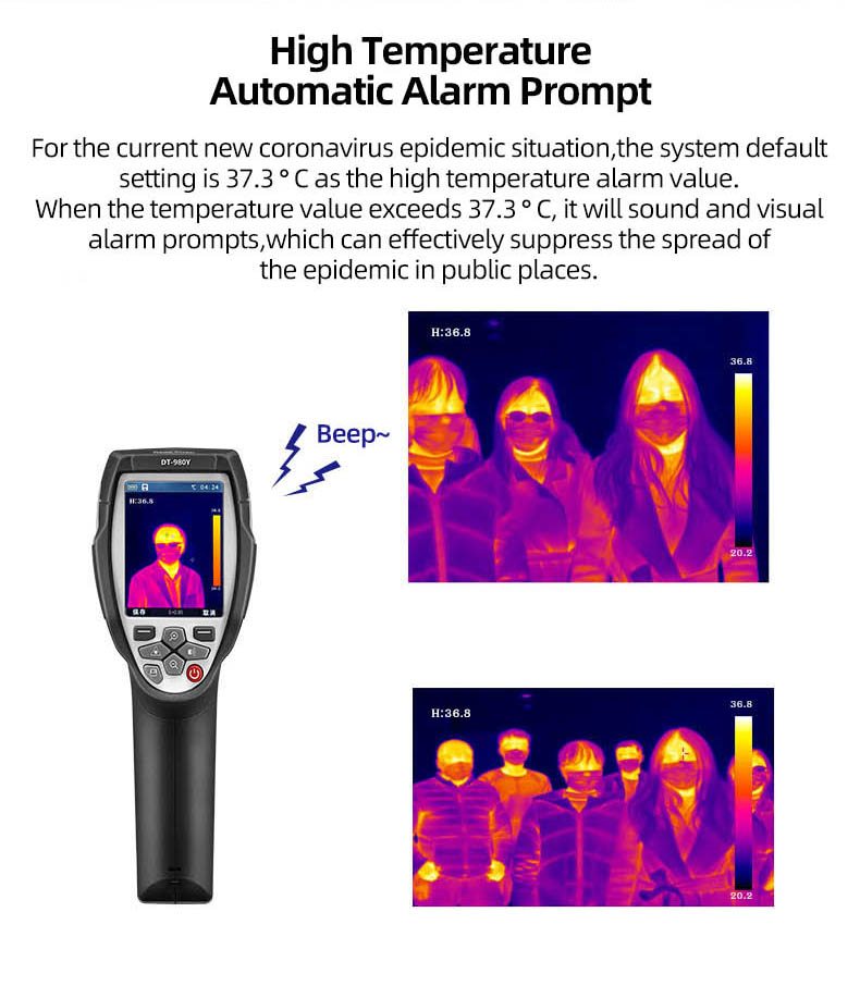 Infrared Thermal Camera With Live Streaming to Computer or TV Bluetooth For Human Body 4