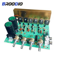Subwoofer Audio Amplifier Board  2.1 Channel 240W High Power Amplifier Board AMP Dual AC18-24V DIY HIFI Stereo AMP Home Theater mm amplifier board pcba turntables phono amp opa2111kp germany dual circuit attenuated riaa purple 35v version hifi diy c2 003