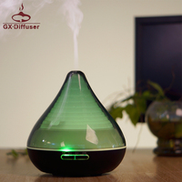 GX.Diffuser 300ml Ultrasonic Air Humidifier Essential Oil Aroma Diffuser 7 Colors Lamp home Electric Mist Maker For Baby Office