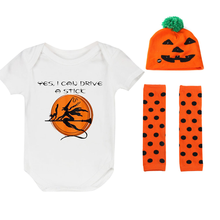 Halloween Clothes Baby Cute Boys and Girls Birthday Romper Set Party Outfit Newborn Photography Props