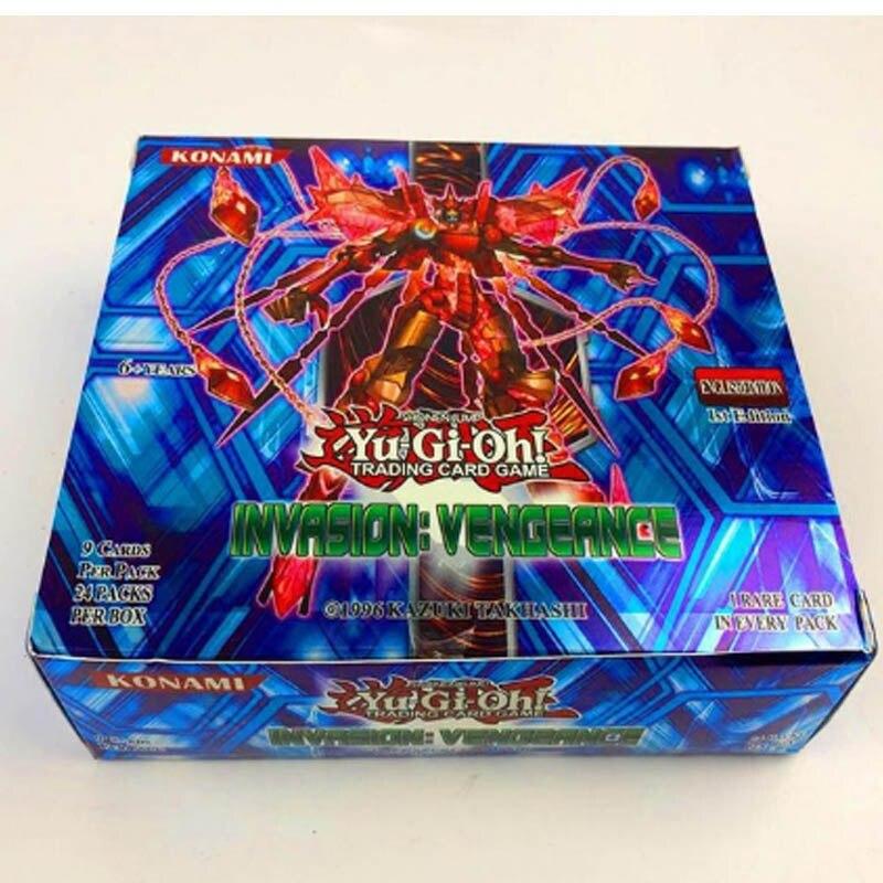 108 шт./компл. аниме Япония Yu-Gi-Oh! Игра карты коробка игра юджиох карты yu-gi-ой коллекция карт ради интереса с Японией легендарные игрушка - Цвет: e