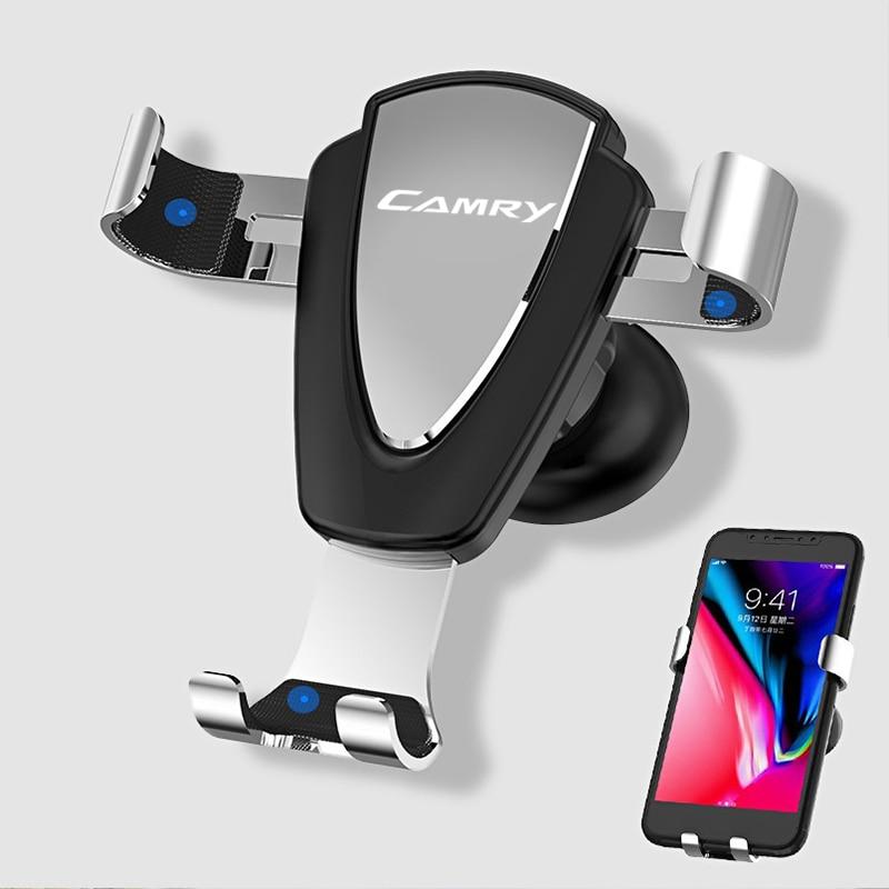 Металлический воздуховыпускное отверстие Автомобильный держатель для телефона на магните полностью автоматический мобильный телефон нав...