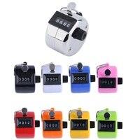 Mini Mano Contatore Meccanico  Argento anello di Metallo/Plastica di Colore  Manuale Contatore per Tally Tasbih Pedometro Frequenza F5501 -