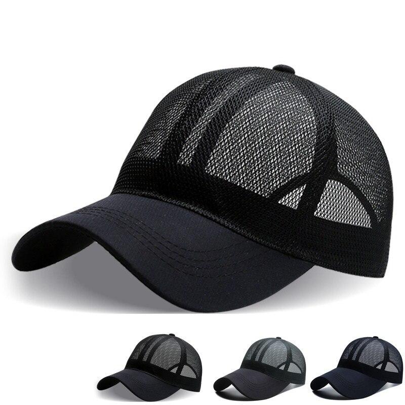 Sports Full Mesh Cap Men's Baseball Cap Sun Hat Outdoor Sports Caps