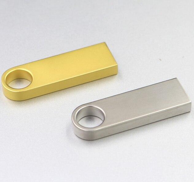 Mini Metal Usb Flash Drive 4GB 8GB 16GB 32GB Super Tiny Pendrive 64GB 128GB Flash Memory Usb Stick Small U Disk Pen Drive 32 GB