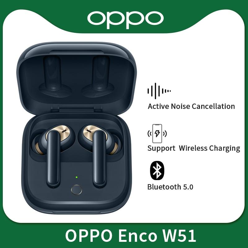 OPPO Enco W51 / W31 TWS наушники Bluetooth 5,0 беспроводные наушники для Reno 4 SE Pro 3 Find X2 Pro ACE 2