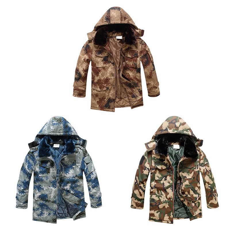 New Rainproof Water Resistant Soft Cotton Coat Outwear Sportswear Thick Cold-proof Warm Hooded Jacket Hot