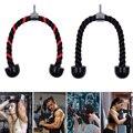 Веревка для Трицепсов оборудование для фитнеса, нейлоновый шнурок, Трицепс, тренировка спины, плеч, для домашнего тренажерного зала, тренир...