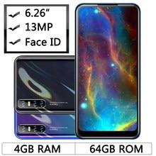 8A Face ID 13MP Оригинал 6,26 дюймов четырехъядерный разблокированный 4G RAM 64G ROM мобильные телефоны Android смартфоны 2sim Celular Быстрая доставка