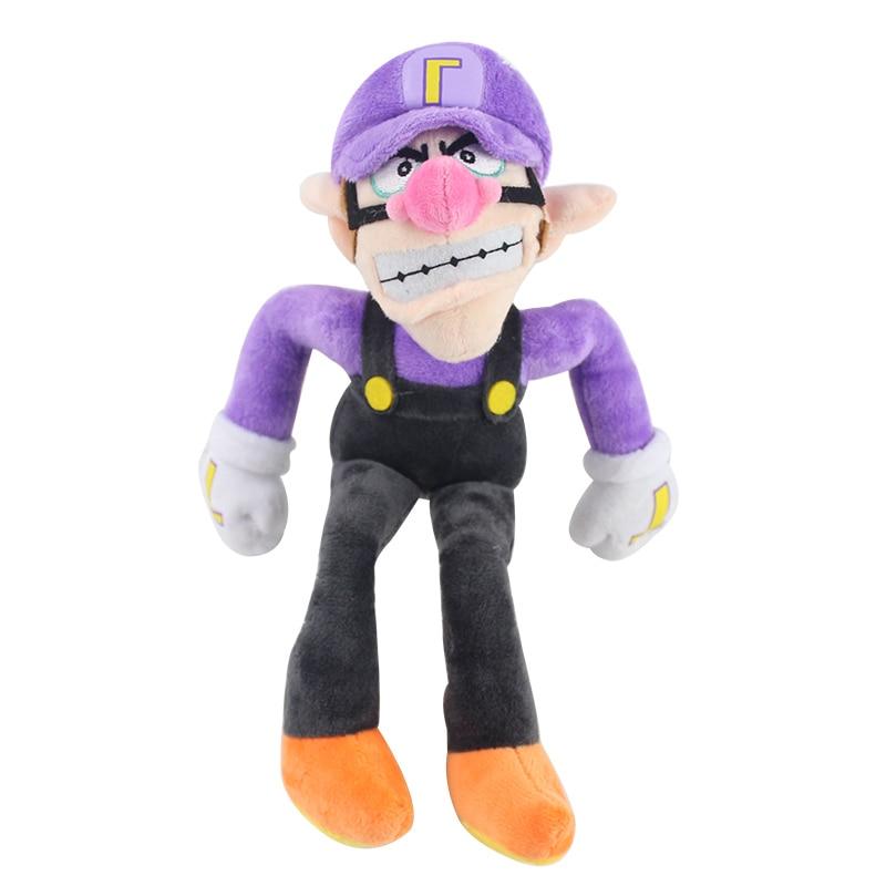 11 28cm Super Mario Bros Brothers Purple Waluigi Plush Toys Soft