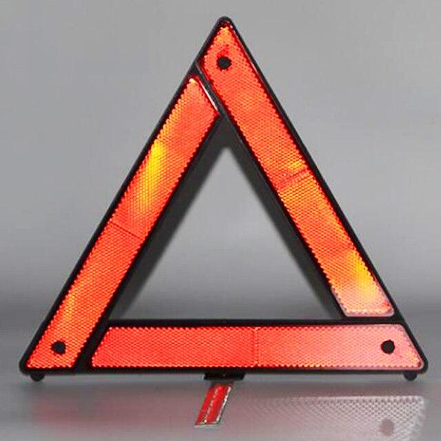 Автомобильный треугольный красный светоотражающий Предупреждающий Сигнал аварийной аварийности автомобильный штатив складной стоп сигнал отражатель светоотражатель