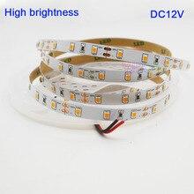 High brightness 5M DC12V 2835 SMD warm white 3000K 60 Leds/m IP20 Flexible LED Strip light