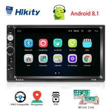 Hikity 2 Din autoradio 7010B Universal Car Multimedia Player GPS bluetooth Car Stereo per Hyundai nissan Toyota KIA