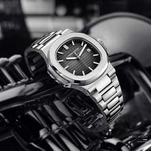 DIDUN популярный топ marque de luxe montre hommes с автоматическим режимом en acier inoxydable mâle horlogemain 2019