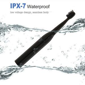 Image 4 - 強力な超 sonic sonic 電動歯ブラシ USB 充電充電式歯ブラシ洗える電子歯ブラシ