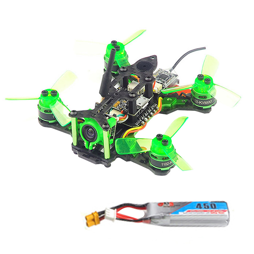 Happymodel Mantis 85 Micro FPV Racing Drone Qaudcopter with Frsky D8/Flysky / DSM/2 Receiver F4 Flight Control wi/ OSD Dshot BNF