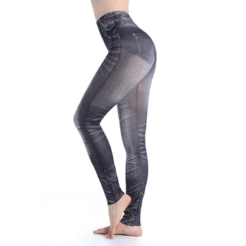 Casual Leggings Women Fitness Pants Women High Waist Legins Push Up Punk Legging Leggins Sexy Workout Sportleggings Pencil Pants