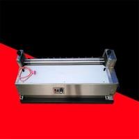 Máquina de encolado automático de cartón, tablero de papel de acero inoxidable, sin calefacción, velocidad ajustable máxima de 70cm, JS720