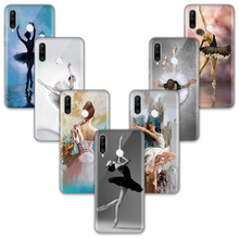 Ballet Meisje Ballerina Telefoon Case Honor 8X20 Mate 20 10 30 P20 P30 P10 Plus Lite Pro P smart Y6 Y9 2019 Nova 3 3i Soft TPU Funda(China)