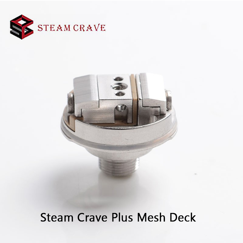 Original Steam Crave Plus Mesh Deck  For Steam Crave Aromamizer Plus And Plus V2 RDTA