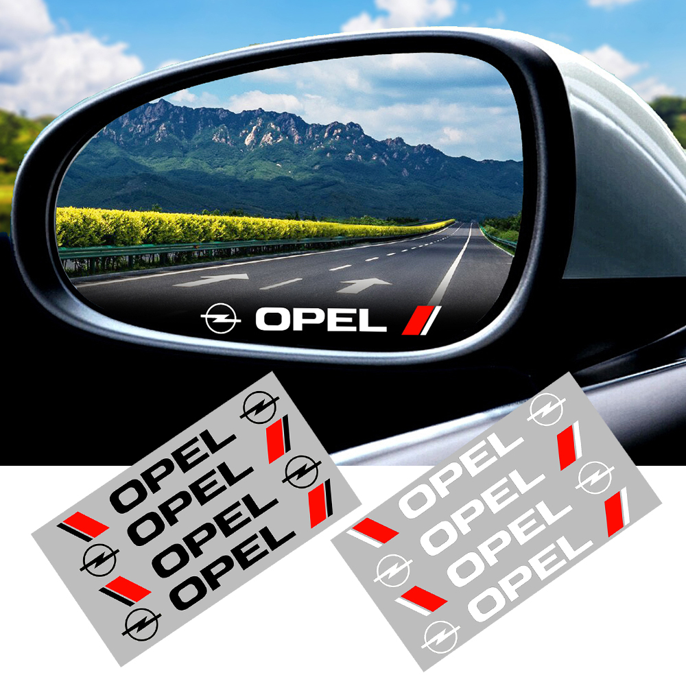 4Pcs High Quality Car The Door Handle Stickers Decals 3D Carbon Fiber Vinyl Car Sticker For Opel Astra H Astra J Mokka Astra G
